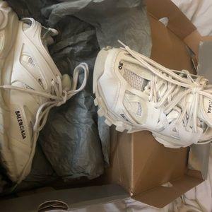 Sneaker all white Balenciaga